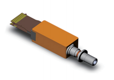 200G内置DML线性驱动器TOSA